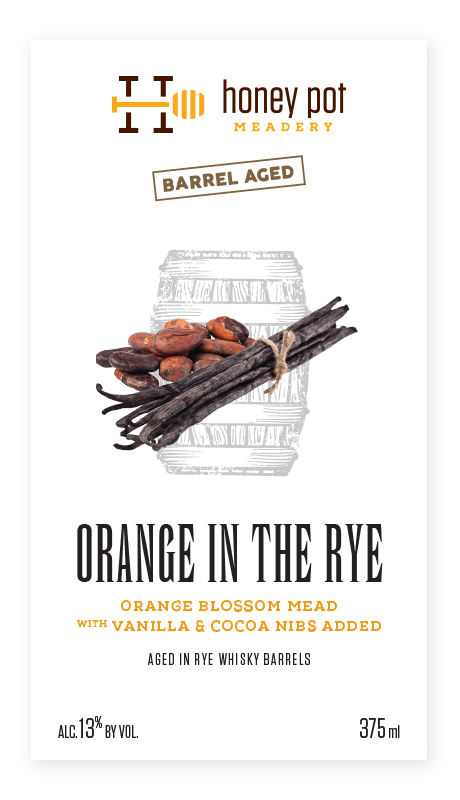 Orange in the Rye Label
